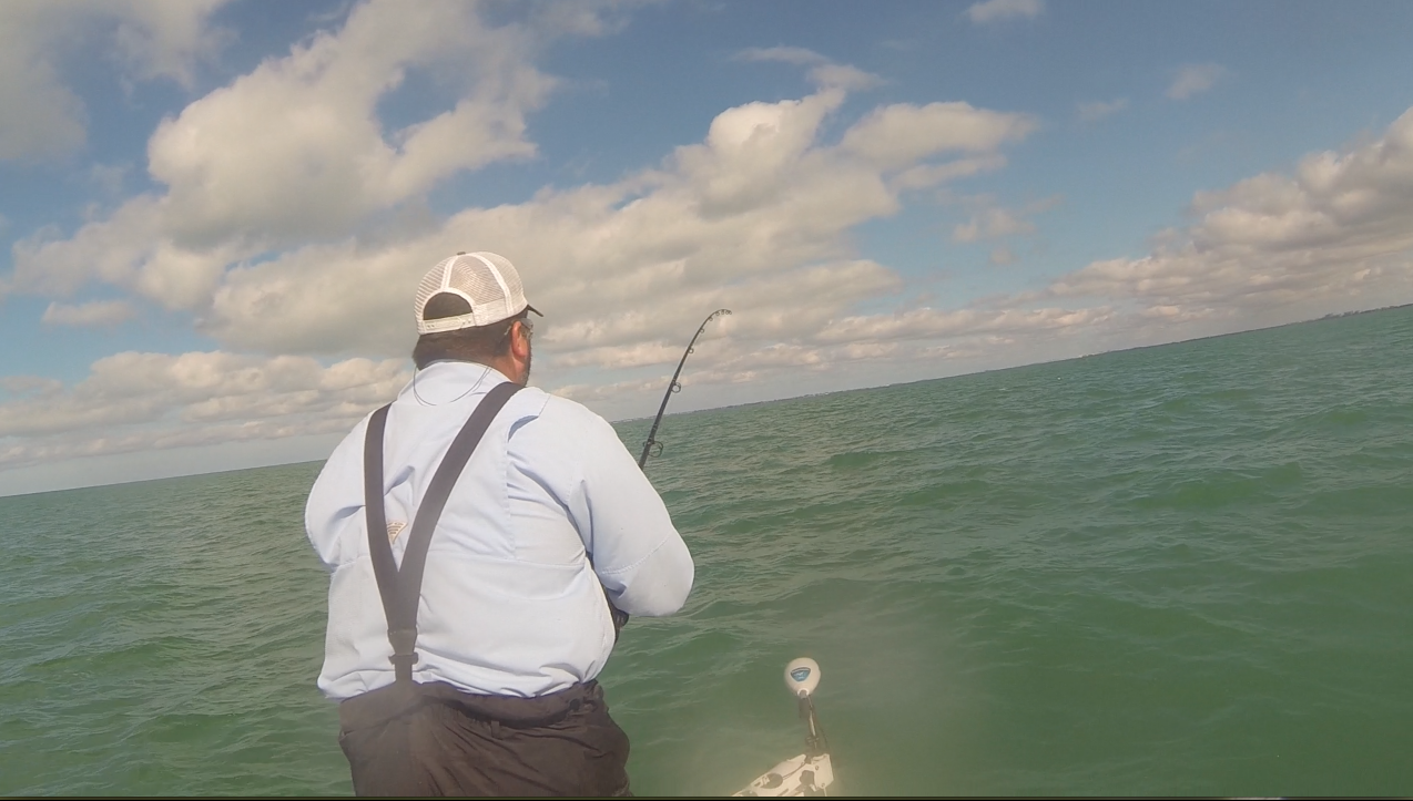 Fort myers fishing report 4 23 14 calusa fishing adventures for Estero bay fishing report