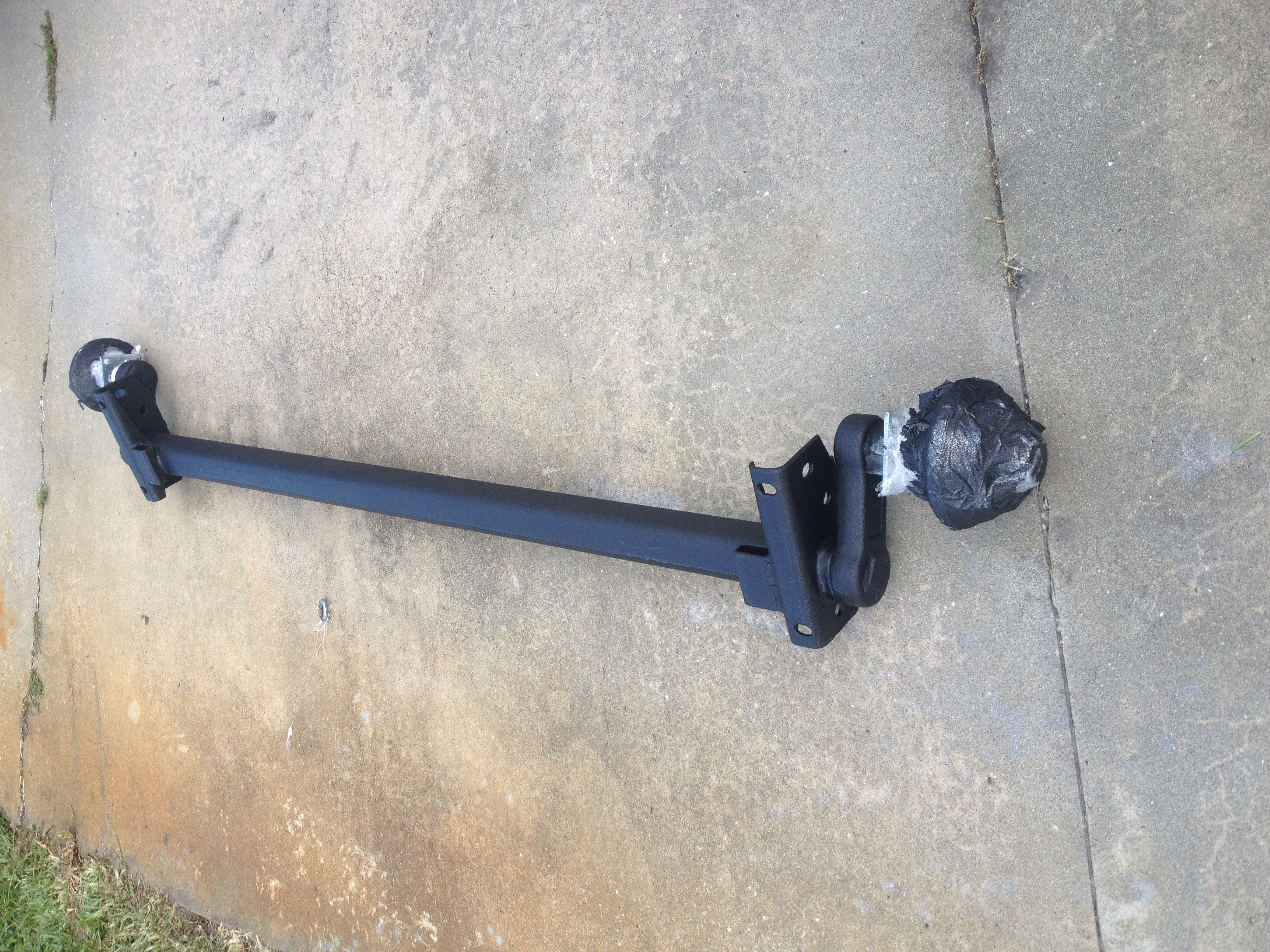 Line-x Torsion Axle