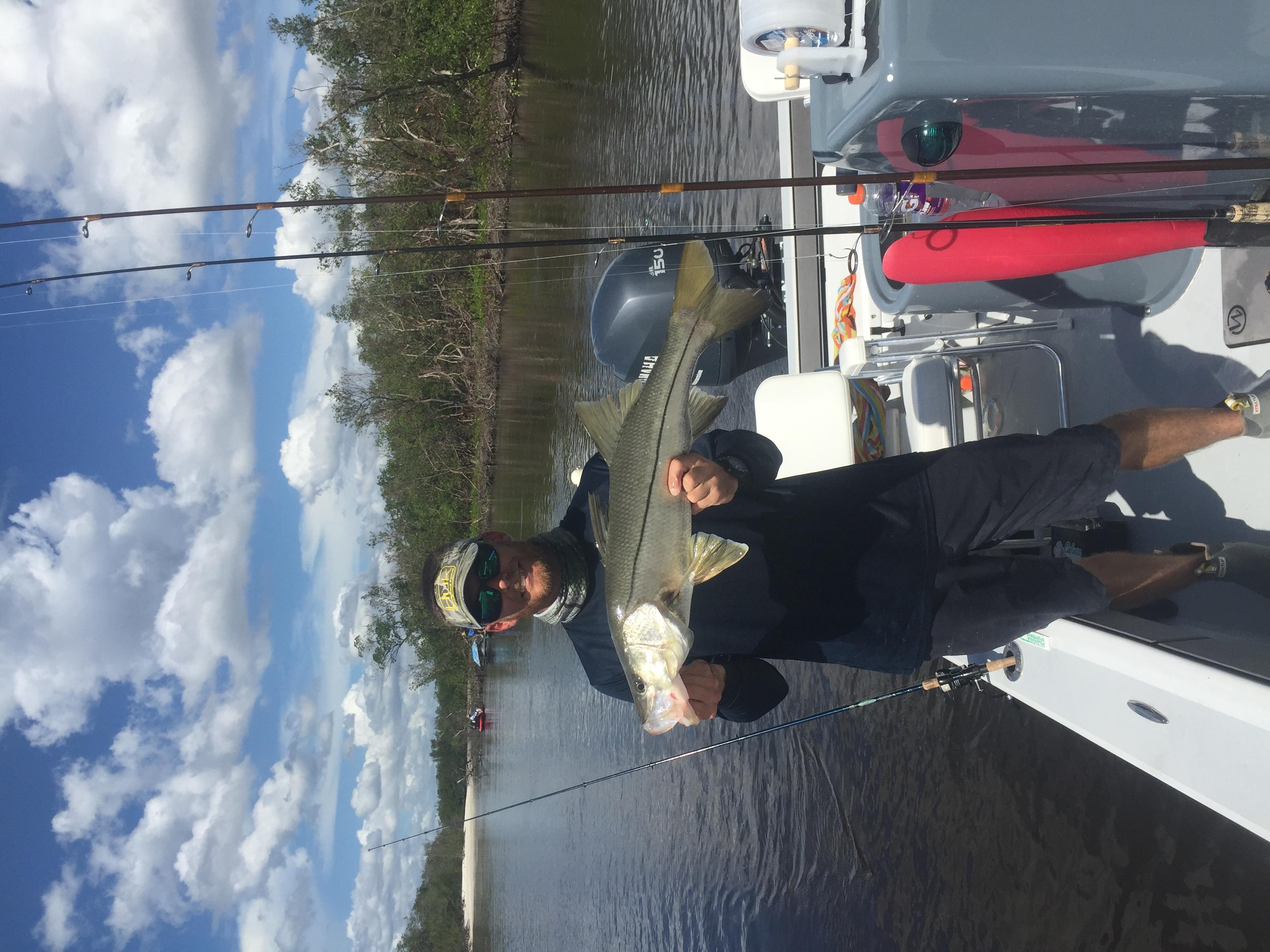 Snook Fishing Charter In Estero Bay Florida